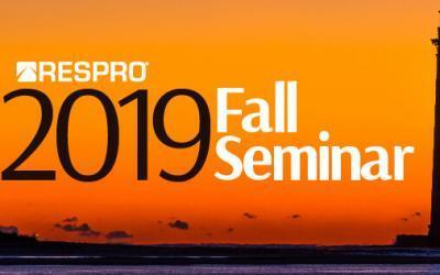 RESPRO 2019 Fall Seminar